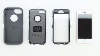 How To Install The Otterbox Defender Series Case On The iPhone SE!