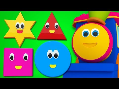 Bob The Train | Shapes Song For Kids And Baby | Adventure with Shapes | Bob Cartoons by Kids Tv