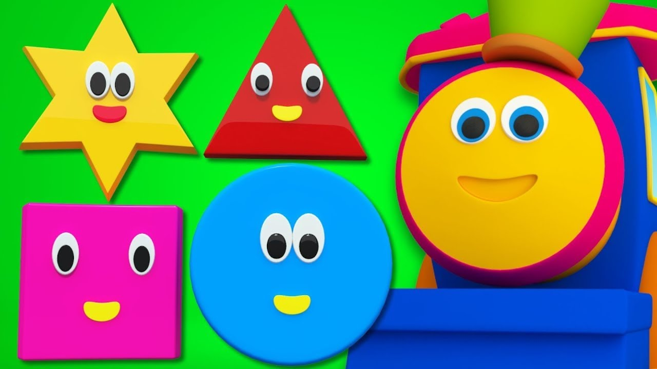 Download Bob The Train | Shapes Song For Kids And Baby | Adventure with Shapes | Bob Cartoons by Kids Tv