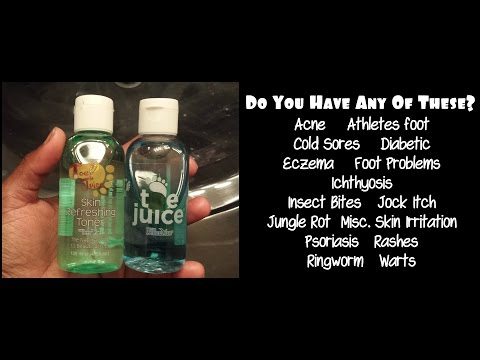 Toe Juice | Common Skin Problems Treated with One Product