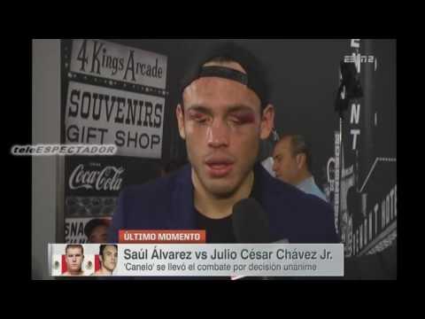 El Canelo Alvarez no me lastimo dice Chavez Junior
