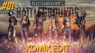 PUBG  Komik montaj (funny moments) #1