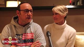Kevin Spacey and Robin Wright Interview