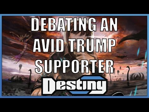 """Debating a 15 year old """"Avid"""" Trump Supporter"""