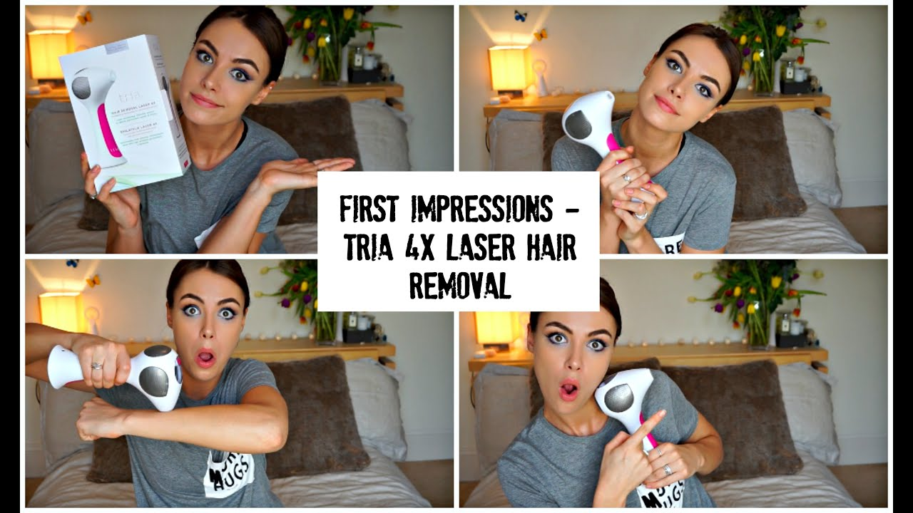 First Impressions - Tria 4x Laser Hair Removal