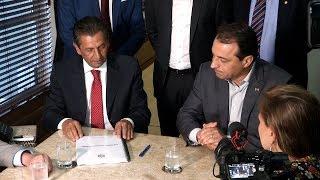 Presidente da Assembleia recebe do governador projeto da Reforma Administrativa