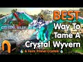 ARK How To Tame Crystal Wyverns & Farm Primal Crystals