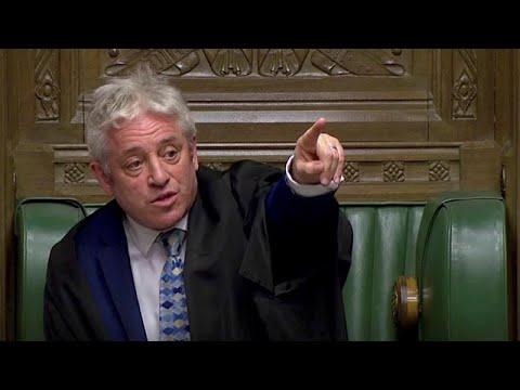 Brexit : le speaker de la Chambre des Communes laisse Theresa May sans voix