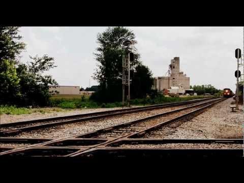 Railfanning Selma May 29 2011