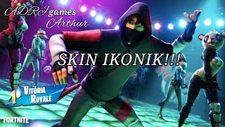 FORTNITE - SKIN IKONIK - HOW TO GET - ADRJgames Arthur
