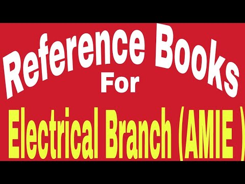 Reference books for electrical core subjects