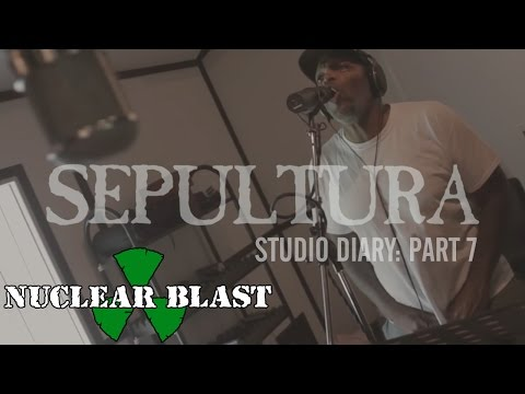 SEPULTURA - Machine Messiah: Studio Diary #7 - Vocals (OFFICIAL STUDIO TRAILER)
