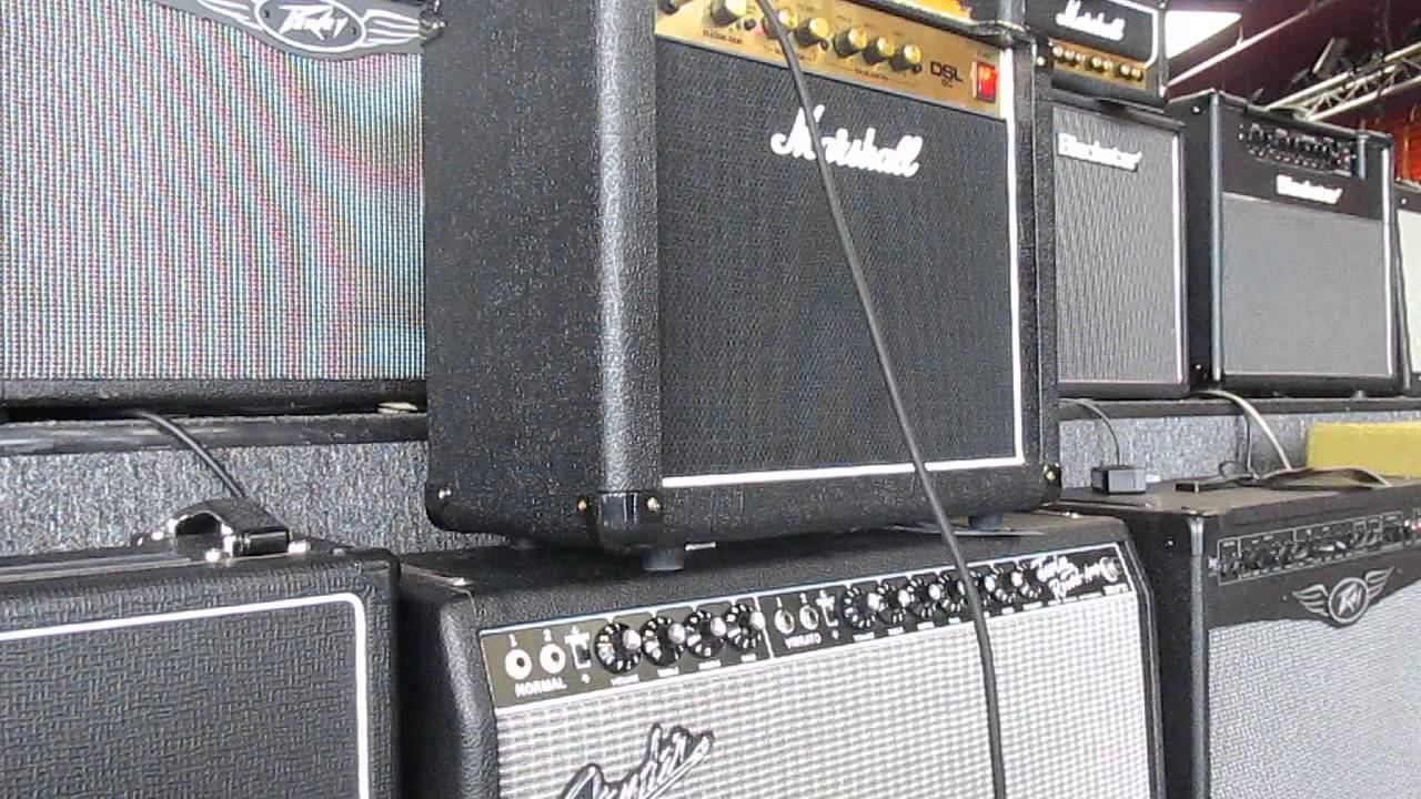 marshall dsl5c 5 watt guitar amp combo b stock w usa warranty youtube. Black Bedroom Furniture Sets. Home Design Ideas