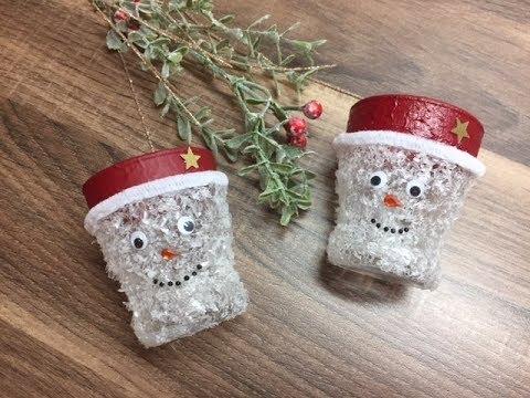 Diy Schneemann Kerzenglas Einfach Und Schnell Basteln Mit Und Für Kinder