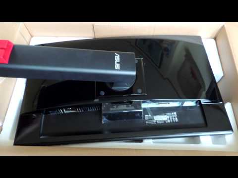 """UNBOXING: Asus VG248QE 144Hz 1ms Gaming Monitor 24"""" LED LCD"""