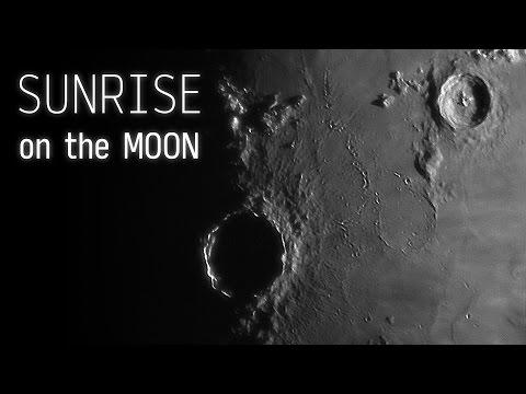Sunrise on the Moon (Timelapse)