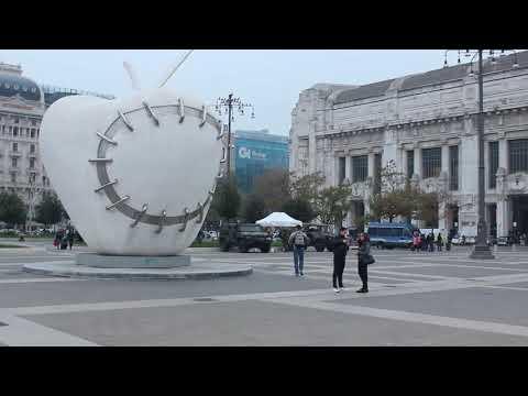 2 день, InCruises 2017. Аэропорт Милан-Мальпенса, отель Idea, вокзал Милана (итал. Milano Centrale)