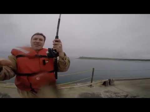 Shemya dock fishing