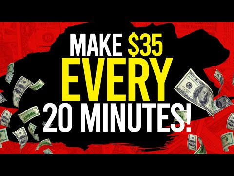 🔥 Earn $35 In 20 Minutes! (How To Make Money Online As A Broke Teenager!)