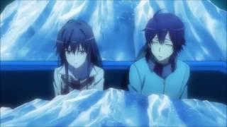 Oregairu Season 2 Episode 9 - Hachiman and Yukino Ride Scene
