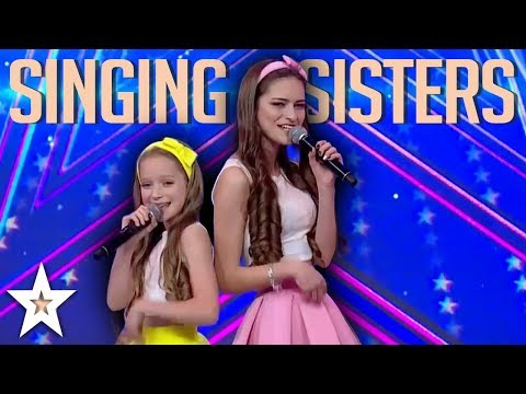 SINGING SISTERS Amaze Judges With