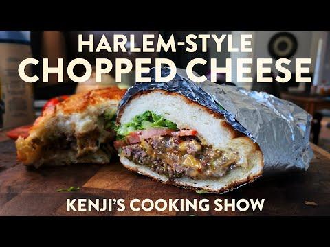 Harlem Chopped Cheese Sandwich | Kenji's Cooking Show