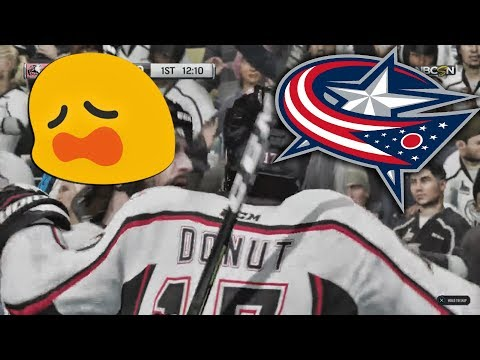 The Blue Jackets Crushed My Life Long Dream... (NHL 18 Gameplay)