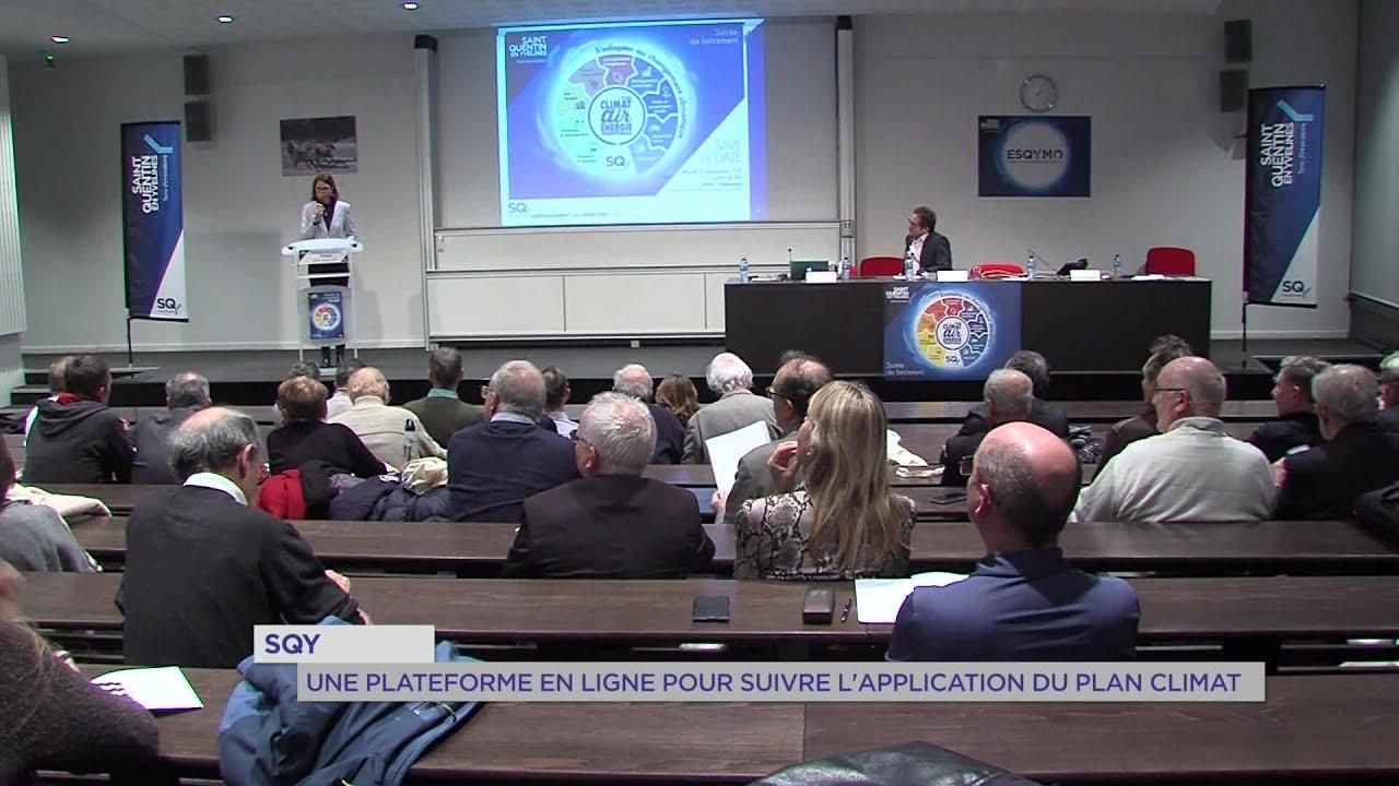 Yvelines | SQY : Une plateforme en ligne pour suivre l'application du plan climat