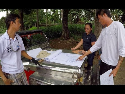 VILLA FELIZ - EPISODE 97: SOLAR HOT WATER HEATER SITE VISIT (House Building in the Philippines)