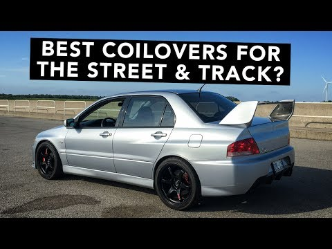 New Street Friendly Coilovers For The Evo - Project Super 8