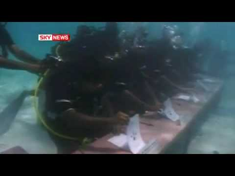 Maldives Cabinet Meeting underwater (sky news)