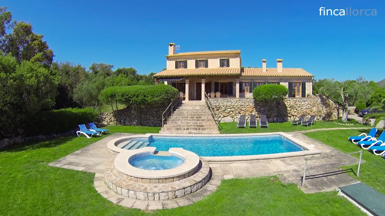 Finca auf Mallorca: Finca Can Biel - YouTube