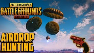PUBG MOBILE   FLARE GUN & AIRDROP HUNTING :) SQUAD Serious Gameplay Lets Go Boyzz 😍