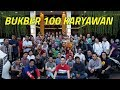 BUKBER SEDERHANA BARENG 100 KARYAWAN KELUARGA ASIX