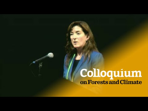 Colloquium on Forests & Climate: Lisa Goddard's opening address