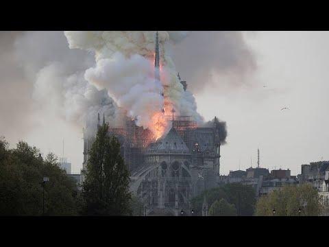 Горит собор Парижской Богоматери!