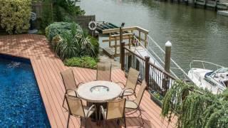 plastic wood exterior decking system
