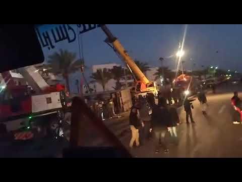 حادث مروع علي طريق بورسعيد دمياط