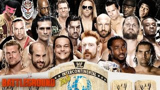 WWE Battleground 2014 Intercontinental Championship Battle Royal pg