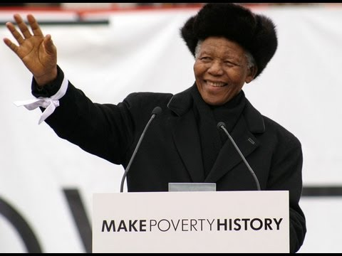 Nelson Mandela Speech in Trafalgar Square