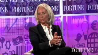 Christine Lagarde: How to get what you want without being aggressive | Fortune