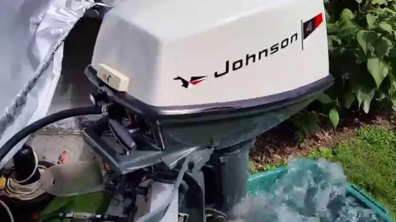 Gem 1970 johnson 4w70e 4hp sea horse outboard motor for Johnson 2 hp outboard motor for sale