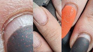 ЖУТЬ какие пропилы на каждом ногте/популярный дизайн ногтей из инстаграм