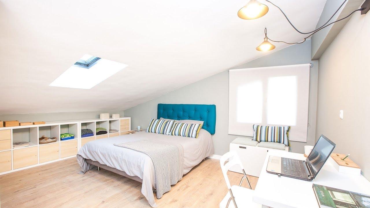 Programa completo decorar un dormitorio pr ctico en una buhardilla decogarden youtube - Decorar una buhardilla ...