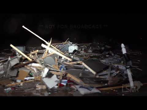4-23-2020 Woodworth, La Tornado destroys homes, hits LSU Alexandria a campus, fatality