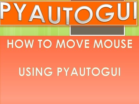 Scroll Mouse Pyautogui