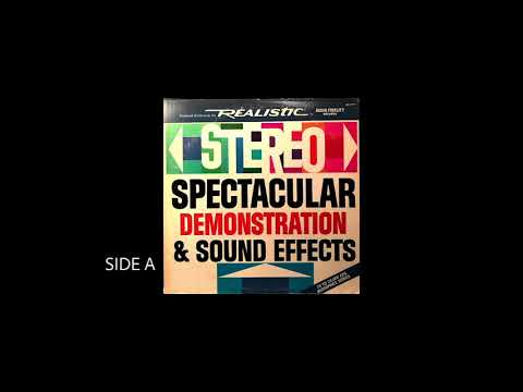 Stereo Demonstration & Sound Effects SIDE A