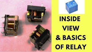 Inside view of Relay with Complete Basic [ type and use ]