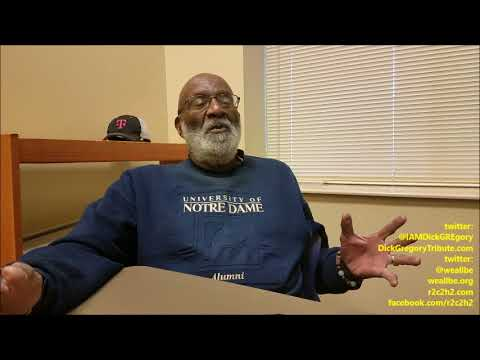"""What Would Dick GREgory Do??? Bro. Ron GREgory Makes IT PlaIN About His Big BroTHEr"