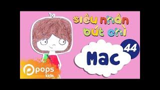 Hướng Dẫn Vẽ Nhân Vật Mac  - Siêu Nhân Bút Chì - Tập 44 - How To Draw Mac